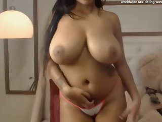 young big tits heavy ebony tease