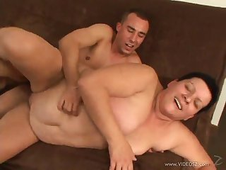 mature bbw is fucked silly after sucking a hard cock