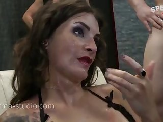 cum orgy - adreena winters - sperma-studio