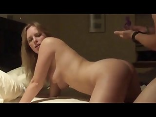 sexy blonde wife fucked doggystyle by husband in homevideo