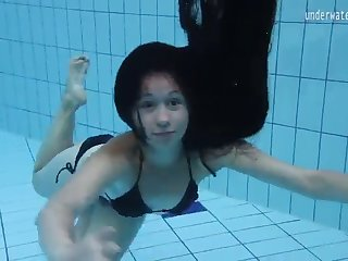 virgin pussy umora bajankina swimming underwater