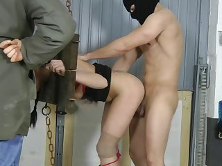 german slave slut getting used