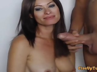 hot milf blowing chunky permanent boner