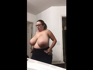 bbw with consequential tits